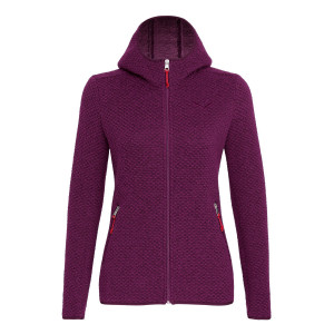 Woolen 2 Layers Women's Hoody