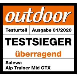OUTDOOR TEST WINNER